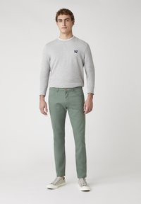 Wrangler - Jeans slim fit - wreath green - 1