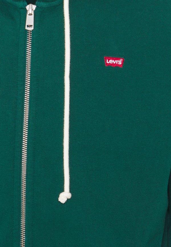 Levi's® NEW ORIGINAL ZIP UP - Bluza rozpinana - greens/ciemnozielony Odzież Męska BEUE
