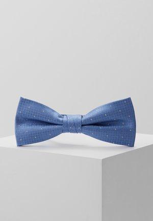 TEXTURED GROUND DOT BOW TIE - Mucha - light blue