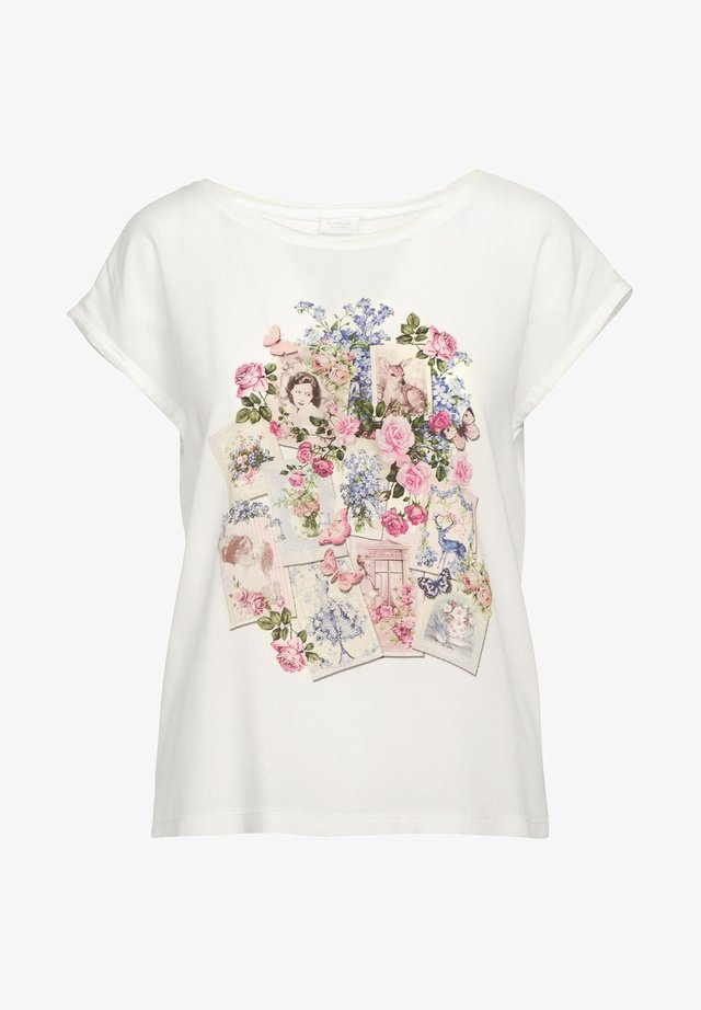 FEHRING - Blouse - weiß/lila