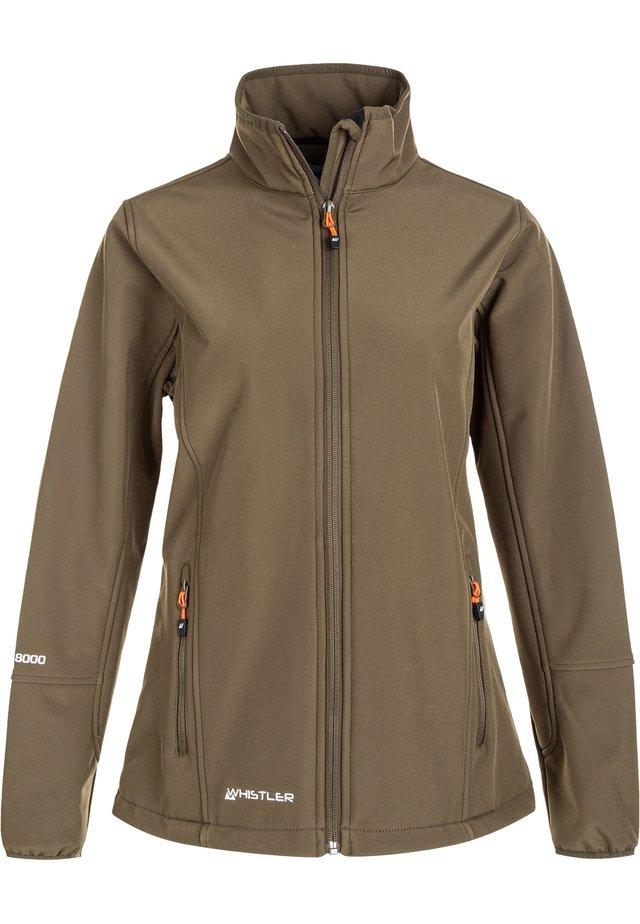 MIT WASSERDICHTER ZWISCHENMEMBRAN - Soft shell jacket - 5056 tarmac