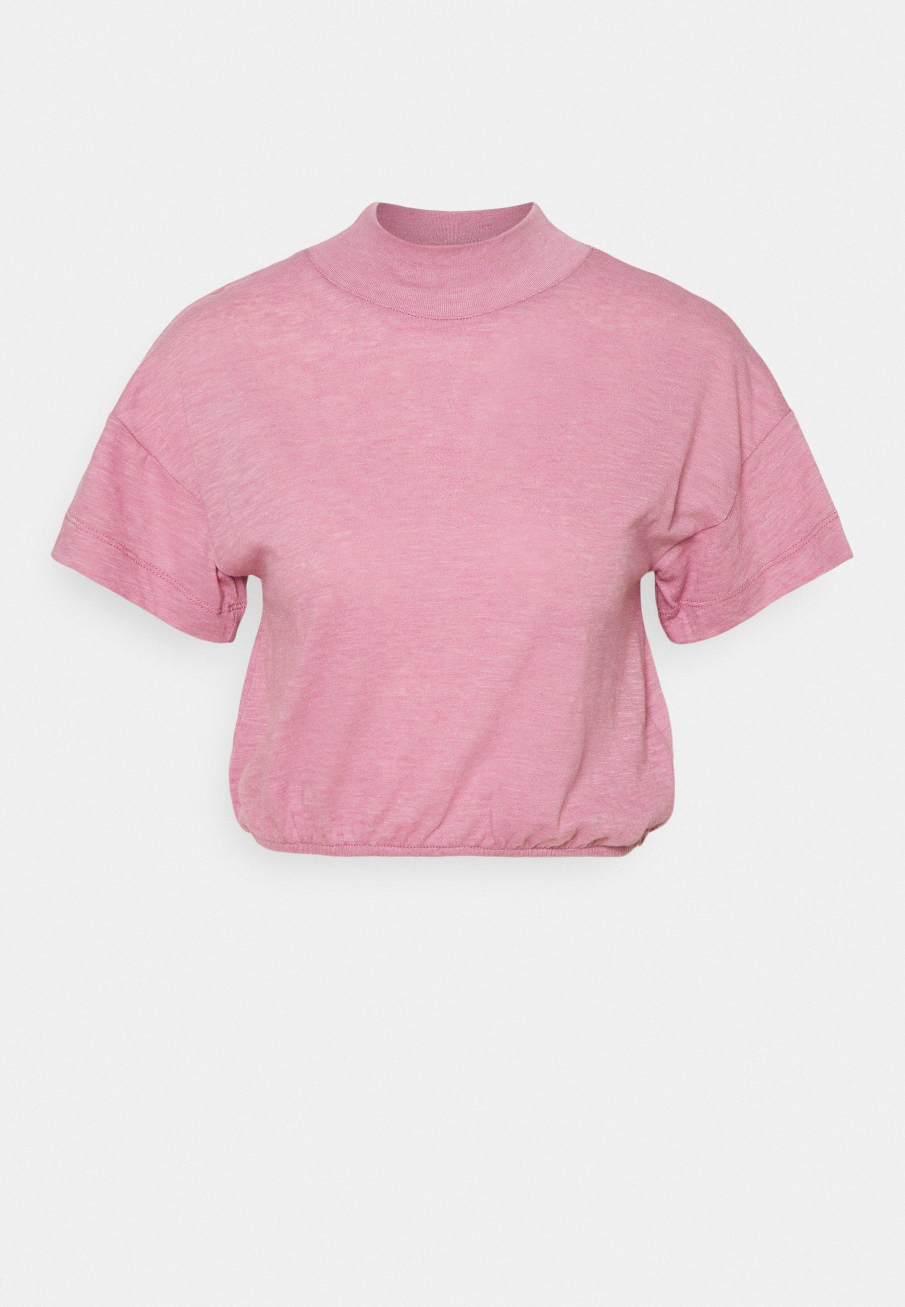 Femme LIFESTYLE MOCK NECK - T-shirt basique