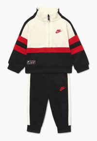 Nike Sportswear - AIR SET - Tracksuit - black/university red - 0