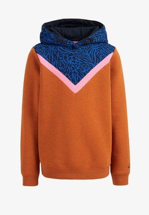 Fleece jumper - orange