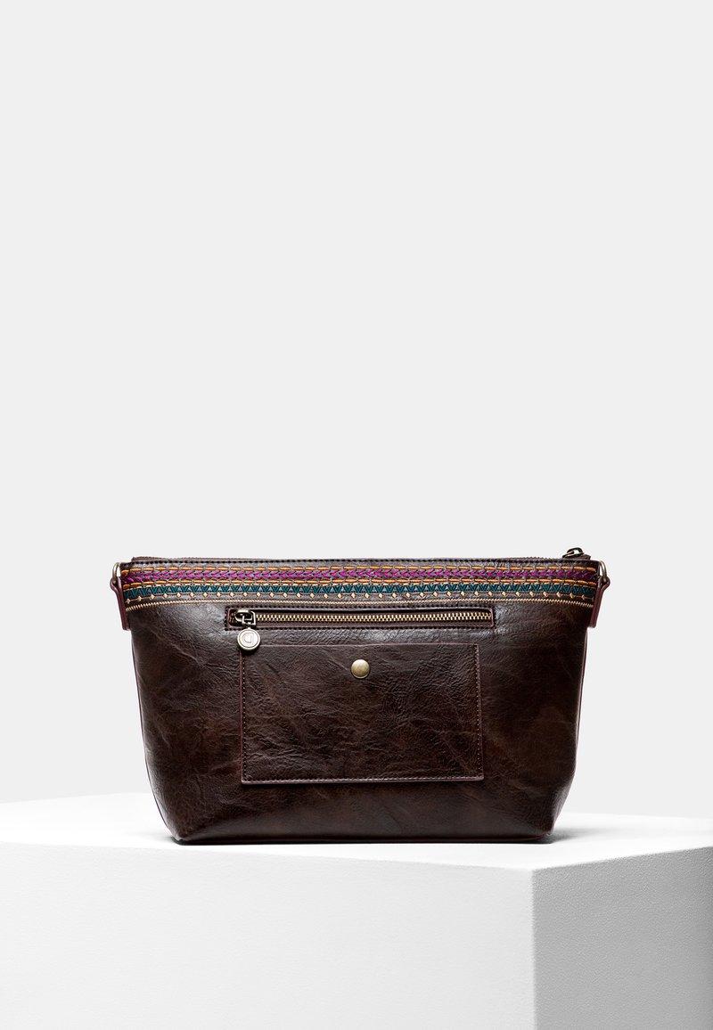 Desigual - BOLS_ASTORIA CATANIA - Across body bag - brown