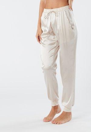 LANGE HOSE AUS SEIDE UND LYOCELL - Pyjama bottoms - seta