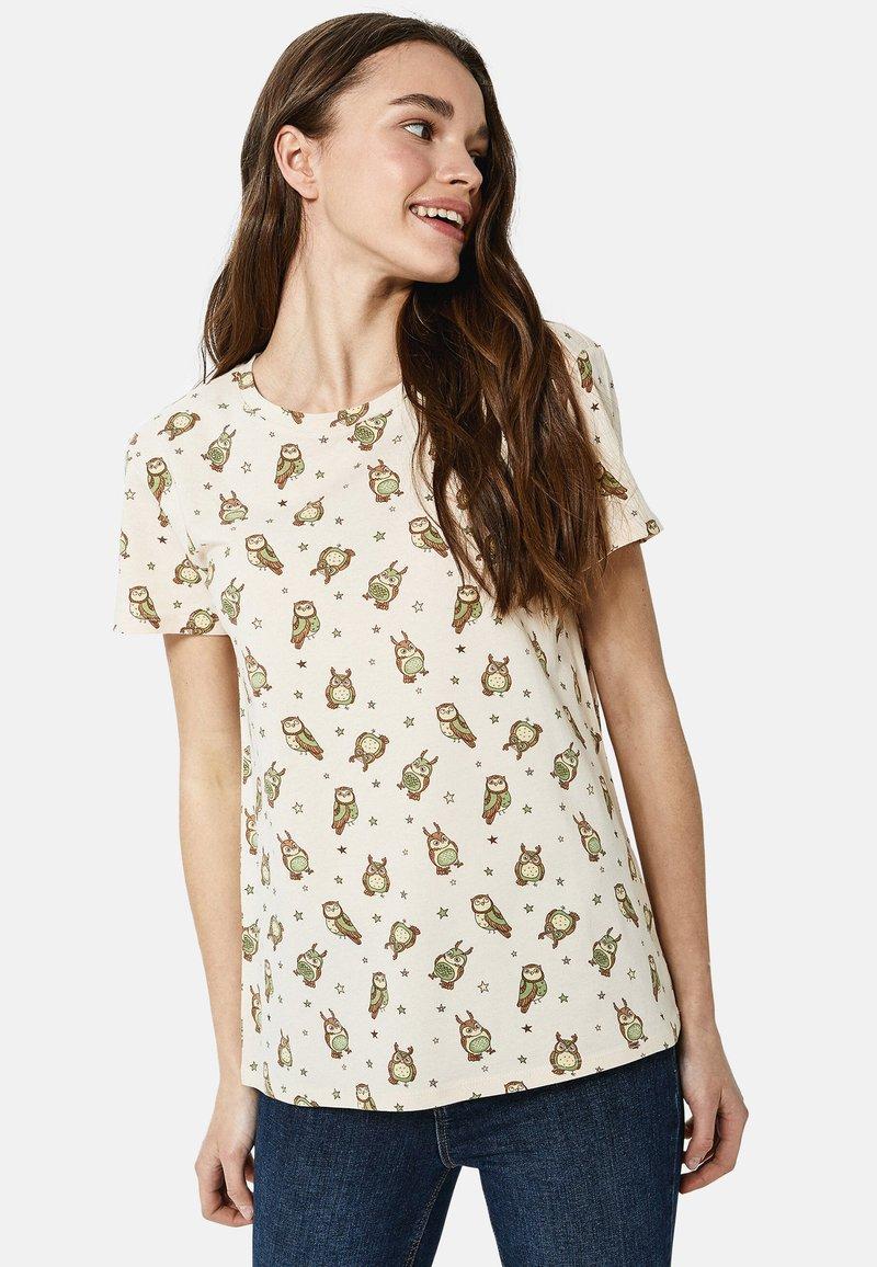 LC Waikiki - Print T-shirt - beige