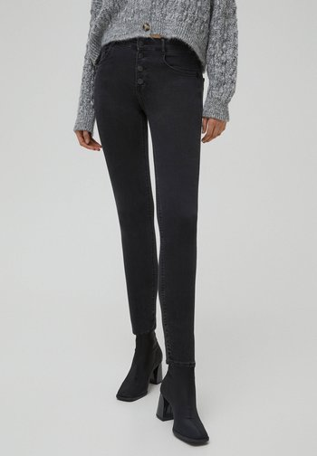 PUSH-UP - Jeans Skinny Fit - black