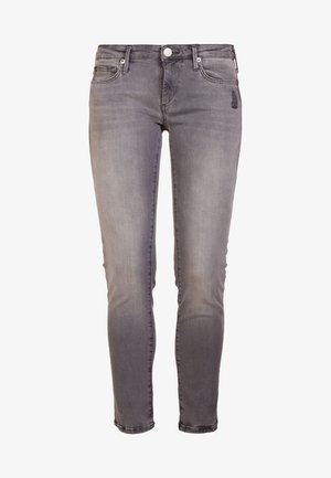 NEW HALLE SUPERSTRETCH - Skinny džíny - grey denim