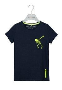Key Largo - BT FASTER  - Print T-shirt - navy - 0