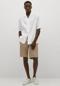 Mango - BOWLING - Skjorta - white - 1