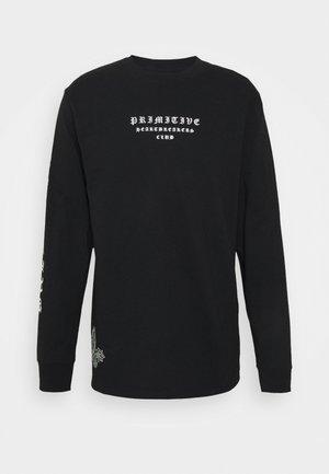 BANDANA - Long sleeved top - black