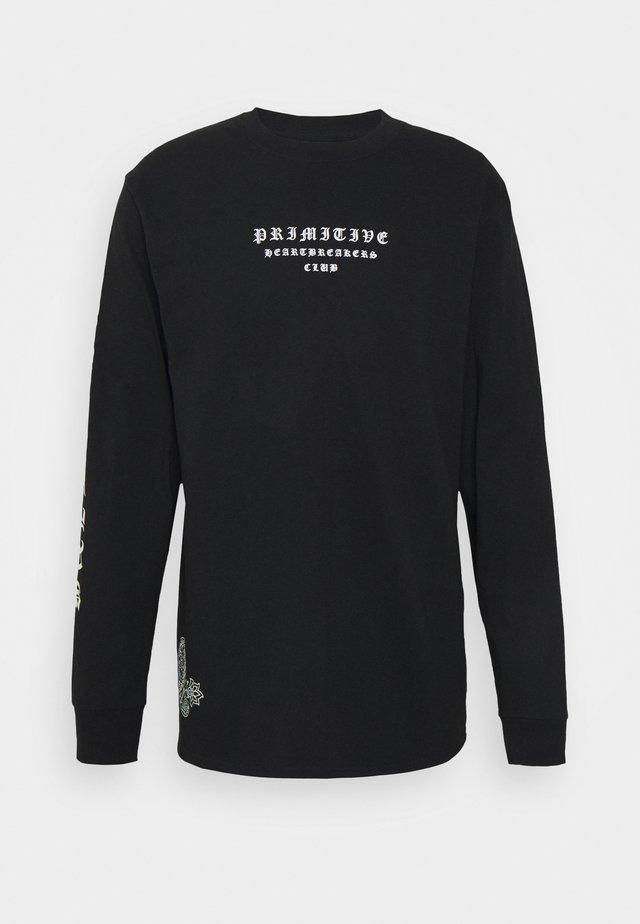 BANDANA - T-shirt à manches longues - black