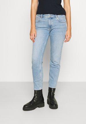 ALVA - Jeans Tapered Fit - multi/worn light cobalt blue