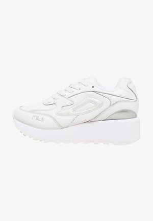 DOROGA ZEPPA - Sneakers basse - white / animal