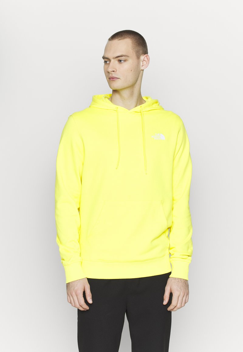 The North Face - GRAPHIC HOODIE - Mikina skapucí - lemon/white