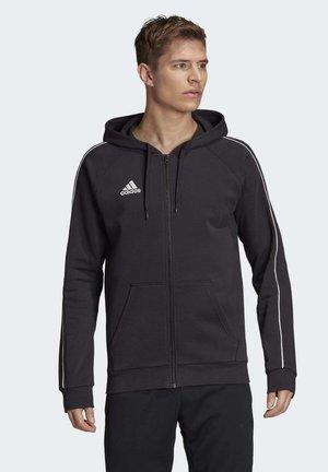 CORE 19 HOODIE - veste en sweat zippée - black