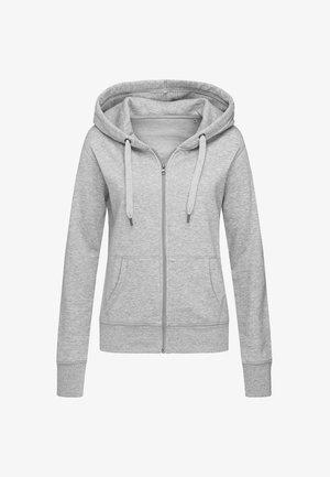 Zip-up sweatshirt - grey heather