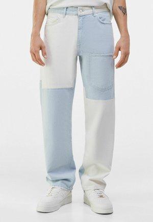 ZWEIFARBIGE - Straight leg jeans - light blue