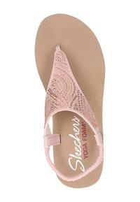 Skechers - MEDITATION - T-bar sandals - rose goud - 2