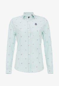 Jimmy Sanders - MIT STREIFENMUSTER - Button-down blouse - mint - 3