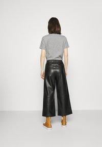 Opus - MILLI - Kalhoty - black - 2