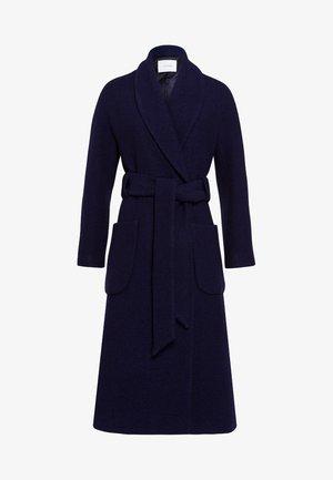Płaszcz wełniany /Płaszcz klasyczny - winter true blue