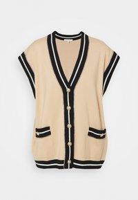maje - MARSHALLI - Zip-up sweatshirt - beige - 0
