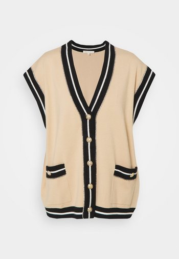 MARSHALLI - Zip-up sweatshirt - beige