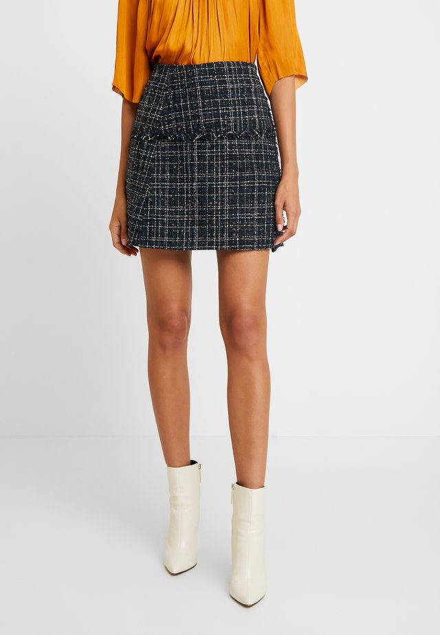 DAY KARE - A-line skirt - dark blue