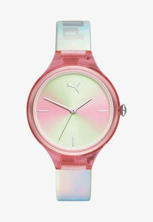 CONTOUR - Horloge - silver-coloured