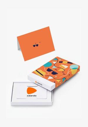 HAPPY BIRTHDAY - Gift card box - orange