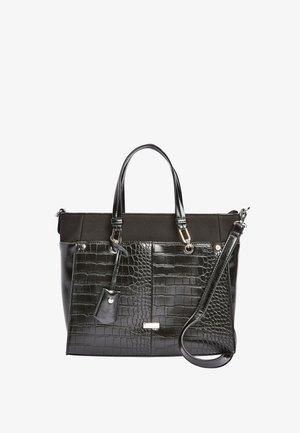 TAB DETAIL - Handbag - black