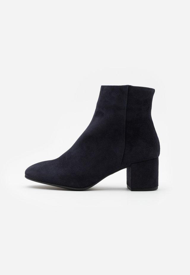 Kotníkové boty - ocean
