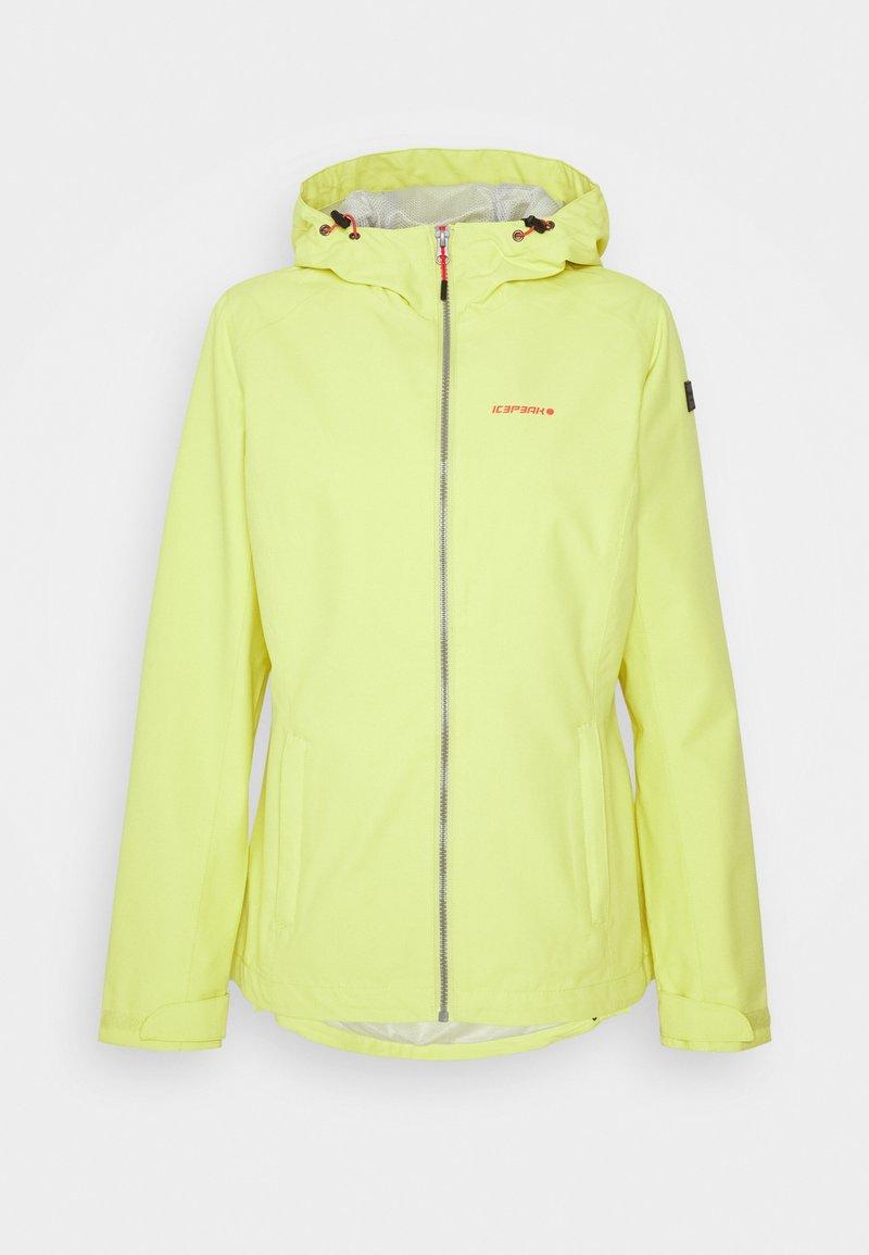 Icepeak - VACHA - Hardshell jacket - aloe