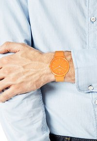s.Oliver - S.OLIVER UNISEX-UHREN ANALOG QUARZ - Watch - orange - 1