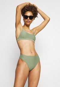 Seafolly - ESSENTIALS BRALETTE AND ESSENTIALS HIGH RISE - Bikini - khaki - 1