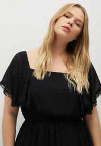 Violeta by Mango - PUNTAS8 - Day dress - schwarz - 3