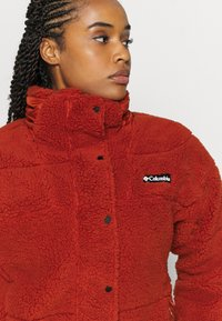 Columbia - LODGEBAFFLED - Fleecejacke - dark sienna - 4