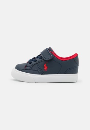 THERON  - Sneakers laag - navy/red