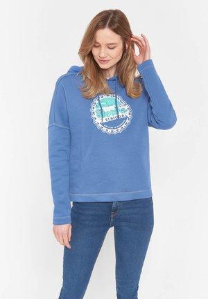 Hoodie - bijou blue