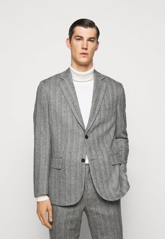 ANTON S HERRINGBONE  - Blazer jacket - black