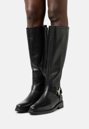 Boots - schwarz/gold