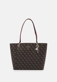 Guess - NOELLE ELITE TOTE - Håndveske - brown - 0