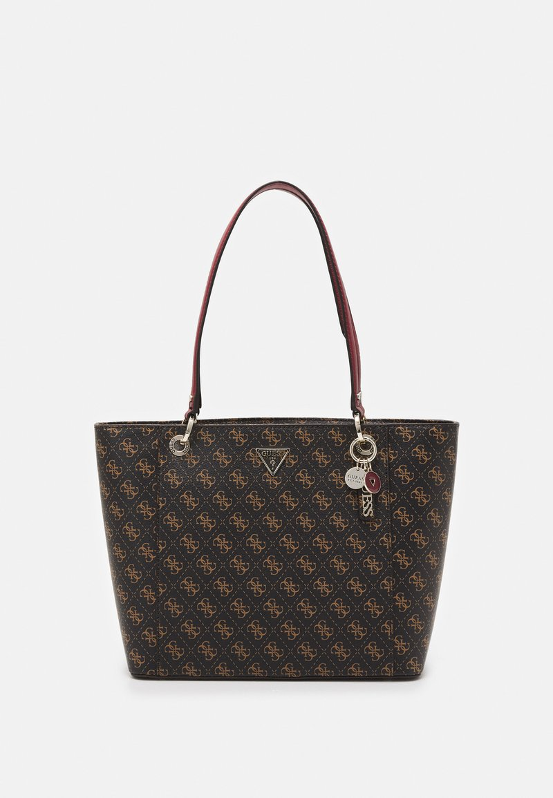 Guess - NOELLE ELITE TOTE - Håndveske - brown