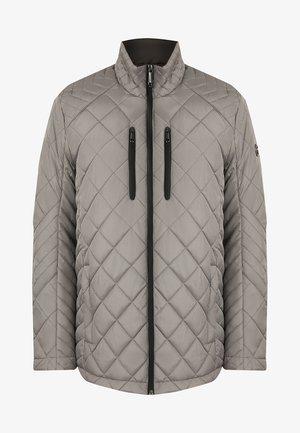 MIT KONTRAST REISSVERSCHLÜSSEN - Winter jacket - mouse