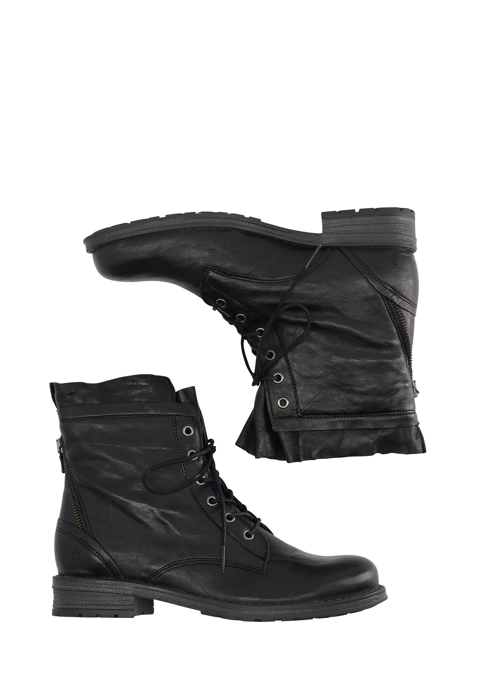2013 Cheapest DreiMaster Lace-up ankle boots - schwarz | women's shoes 2020 D6Nbe