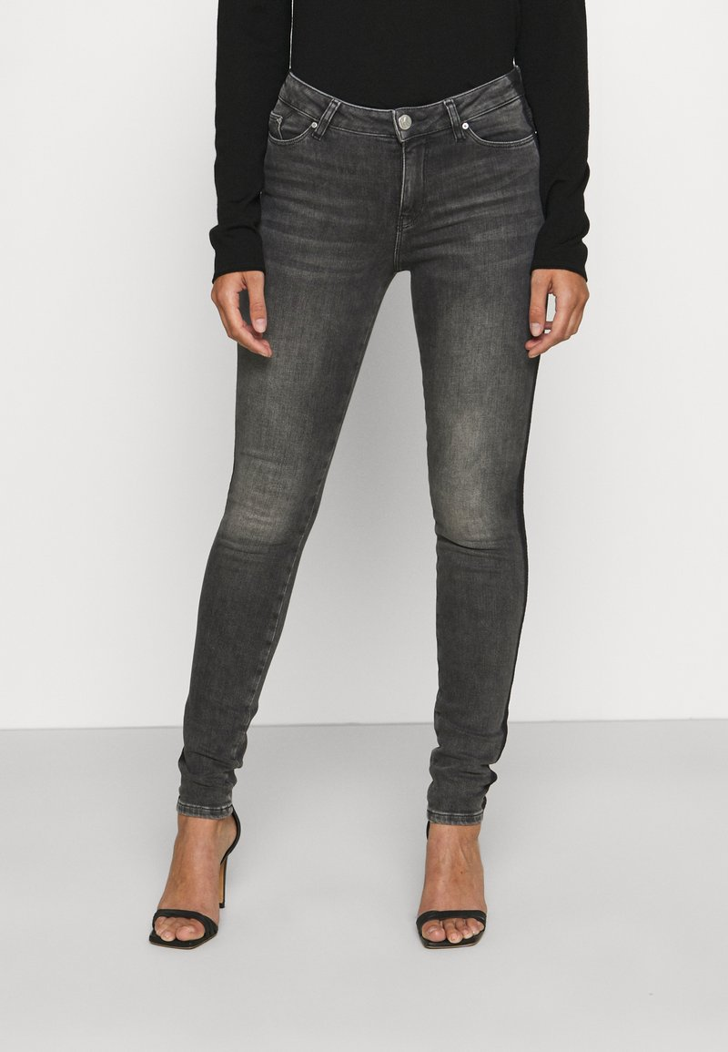 KARL LAGERFELD - SKINNY DENIM - Jeans Skinny - grey