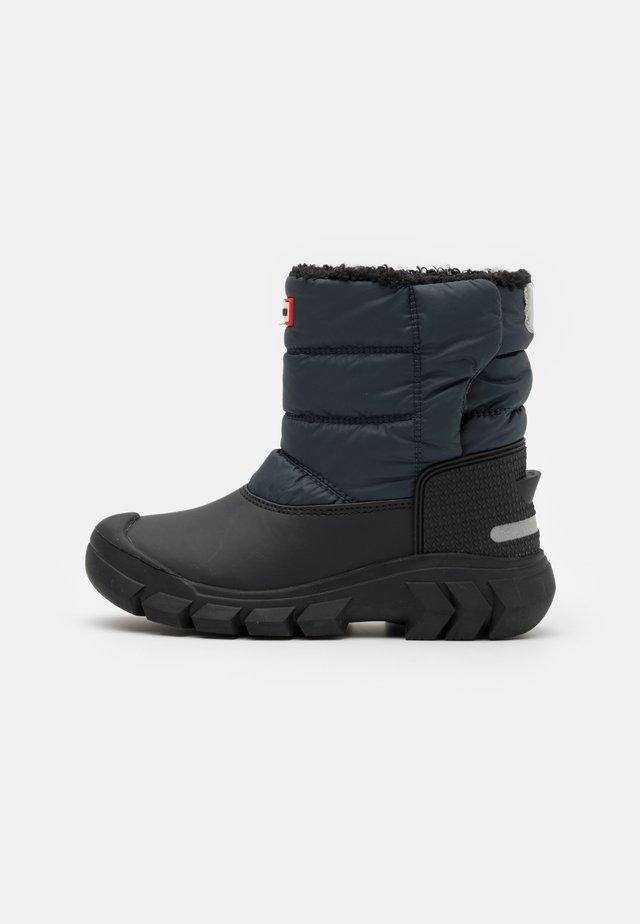 ORIGINAL KIDS UNISEX - Zimní obuv - navy/black