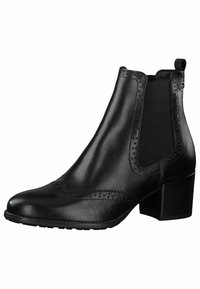 Tamaris - CHELSEA - Classic ankle boots - black leather - 3